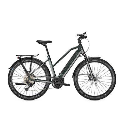 KALKHOFF ENDEAVOUR 5.B EXCITE+ 625 Wh Trapez Trekking E-Bike 2021 | deepgreen/jetgrey glossy