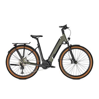 KALKHOFF ENTICE 5.B ADVANCE+ 625 Wh Wave Trekking E-Bike 2021   urbangreen/magicblack matt
