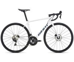 Giant TCR Advanced 2 Disc Race 2021 | white