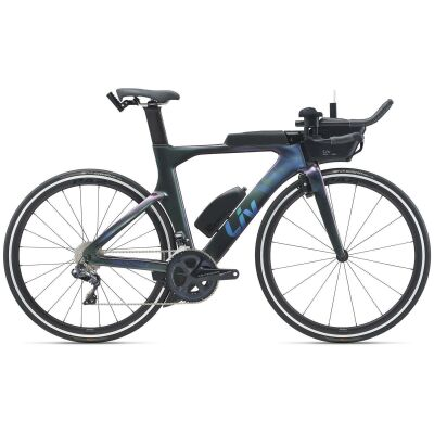 Liv Avow Advanced Pro 1 Damen Zeitfahrrad 2021 | dark iridescent