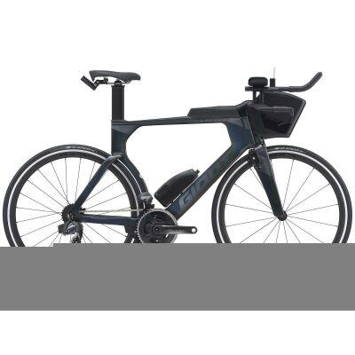 Giant Trinity Advanced Pro 1 Triathlonbike 2021 | rainbow black gloss-matt
