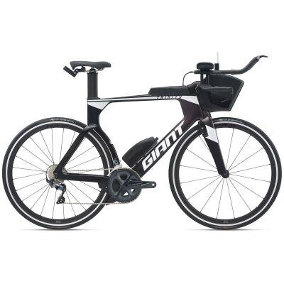 Giant Trinity Advanced Pro 2 Triathlonbike 2021   carbon smoke / rosewood / white