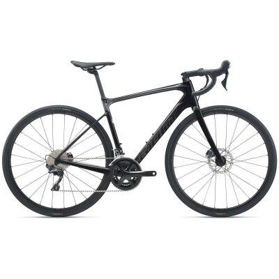 Giant Defy Advanced 1 Endurance Bike 2021   carbon smoke / charcoal