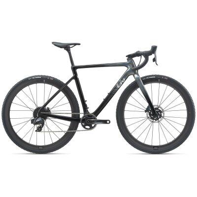 Liv Brava Advanced Pro 0 Damen Cyclocrosser 2021 | rainbow black / carbon smoke