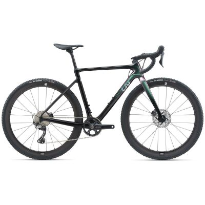 Liv Brava Advanced Pro 1 Damen Cyclocrosser 2021 | dark iridescent / carbon smoke