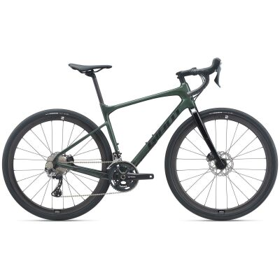 Giant Revolt Advanced 0 Gravel Bike 2021 | balsam green / black