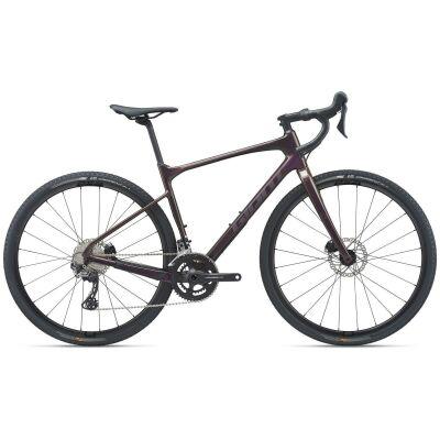 Giant Revolt Advanced 2 Gravel Bike 2021 | rosewood gloss-matt