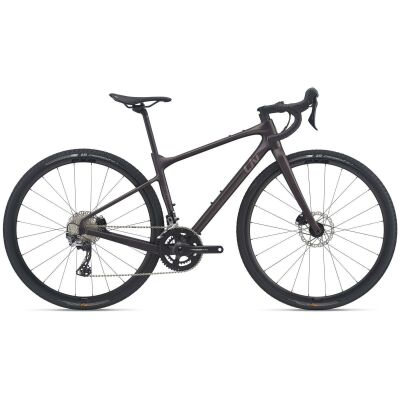 Liv Devote Advanced Damen Gravel Bike 2021 | rosewood matt