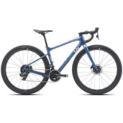Liv Devote Advanced Pro Damen Gravel Bike 2021 | chameleon blue matt