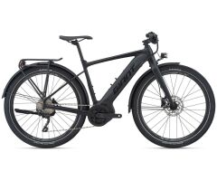 Giant FastRoad E+ EX Ebike 2021 | black matt-gloss