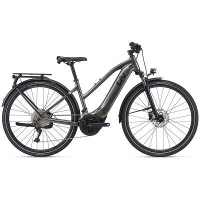 Liv Amiti-E+ 1 500Wh Damen Trekking Ebike 2021   charcoal grey