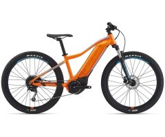 Giant Fathom E+ jr. Kinder Ebike 2021 | neon orange / blue