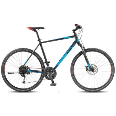 KTM LIFE ROAD 27 DISC H Damen Lightgrey Matt / Black+Orange Crossrad 2018