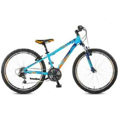 KTM WILD CROSS 24.18 MTB  Kind Blue Matt / Darkblue+OrangeKinderrad 2017