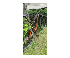 Ghost Hybride ASX Essential 130 E-Bike Fully 2021 | brown/pink