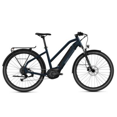 Ghost ESquare Trekking Universal AL Trapez Trekking E-Bike 2021 | blue