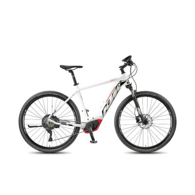 KTM MACINA CROSS 11 CX5 Herren White Matt / Black+Red E-Bike 2018
