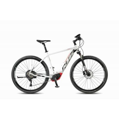 KTM MACINA CROSS 11 CX5 Damen White Matt / Black+Red E-Bike 2018
