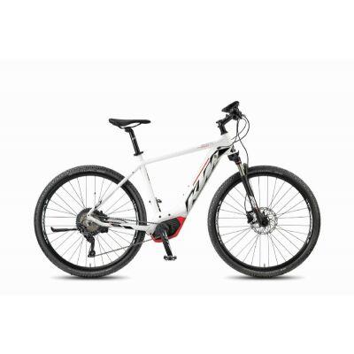 KTM MACINA CROSS 11 CX5 Damen White Matt / Black+Red E-Bike 2018