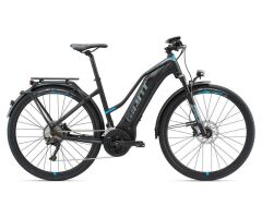 GIANT EXPLORE E+ 0 S5 Black/Blue Damen Trekking E-Bike 2018