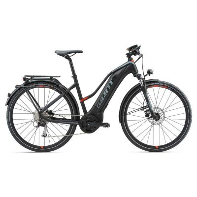 GIANT EXPLORE E+ 2 Black/Red Damen Trekking E-Bike 2018