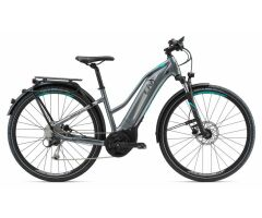 LIV AMITI-E+1 S5 Dark Silver Damen Cross E-Bike 2018