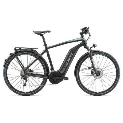 GIANT EXPLORE E+ 1 GTS Black/Green Trekking E-Bike 2018