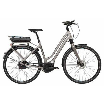 GIANT PRIME E+0 BD LDS Metallic Grey Tiefeinsteiger City E-Bike 2018