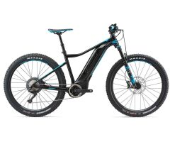 GIANT DIRT-E+ 0 PRO Black/Blue Hardtail E-Bike 2018