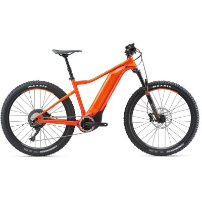 GIANT DIRT-E+ 1 PRO Neon Red/Orange Hardtail E-Bike 2018