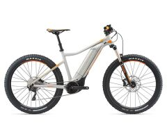 GIANT DIRT-E+ 2 PRO Grey/Neon Orange Hardtail E-Bike 2018