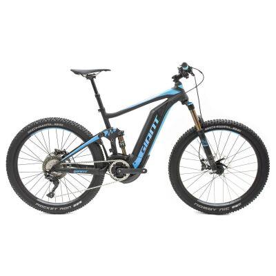 GIANT FULL-E+ 0 PRO Black/Electric Blue Fully E-Bike 2018