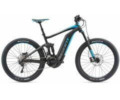 GIANT FULL-E+ 1.5 PRO Black/Blue Fully E-Bike 2018