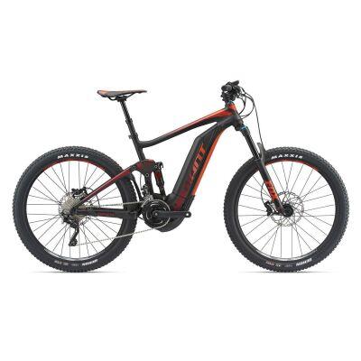GIANT FULL-E+ 1.5 PRO Black/Red Fully E-Bike 2018