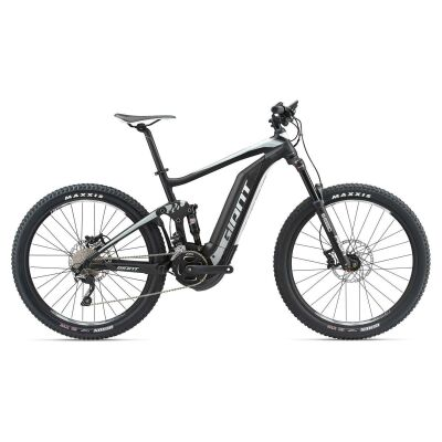 GIANT FULL-E+ 2 S5 Black/Grey/White Fully E-Bike 2018