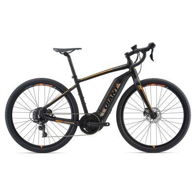 GIANT TOUGHROAD E+ GX S5 Matte Black Gravel E-Bike 2018