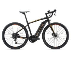 GIANT TOUGHROAD E+ GX S5 Matte Black Gravel E-Bike 2018