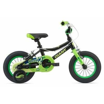 GIANT ANIMATOR C/B 12 Blk/Green  Kinderfahrrad  2018