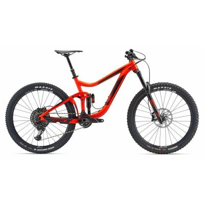 GIANT REIGN 1 Neon Red Enduro Bike 2018