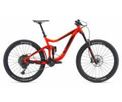 GIANT REIGN 1 Neon Red Enduro Bike 2018
