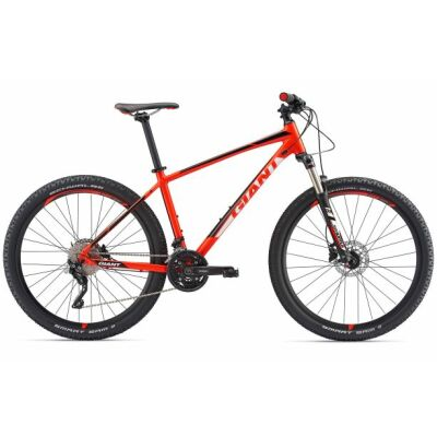 GIANT TALON 1 GE Neon Red MTB Hardtail 2018