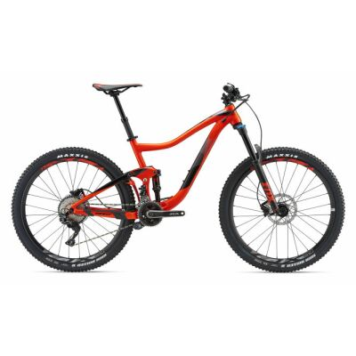 GIANT TRANCE 2 GE Neon Red Fully 2018