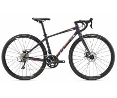 LIV INVITE Dark Purple Damen Gravelbike 2018