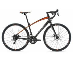 GIANT ANYROAD 2 Black Gravelbike 2018