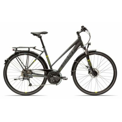 GIANT ASPIRO 2 Black/Lime Damen Trekkingbike 2018