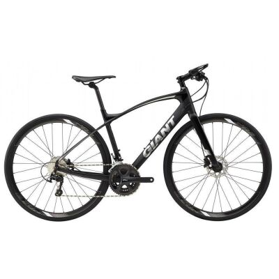 GIANT FASTROAD COMAX 1 Black Fitnessbike 2018