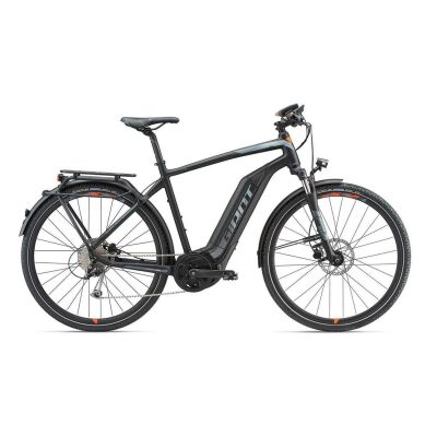GIANT EXPLORE E+ 2 S5 GTS Black/Red Herren Trekking E-Bike 2018 M