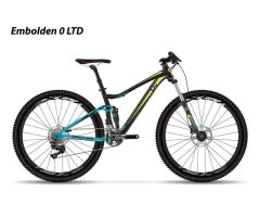 LIV EMBOLDEN 0 LTD BLACK Damen Trailbike 2017