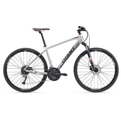 GIANT ROAM 2 DISC SILVER Crossbike 2017