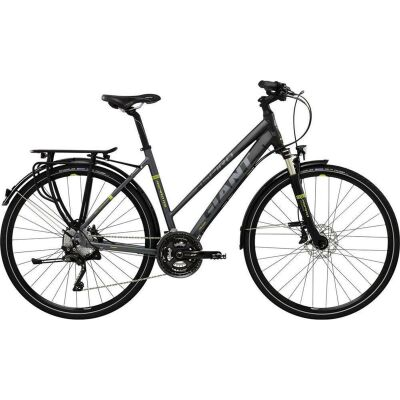 GIANT ASPIRO 0 Black/Lime Damen Trekkingbike 2017